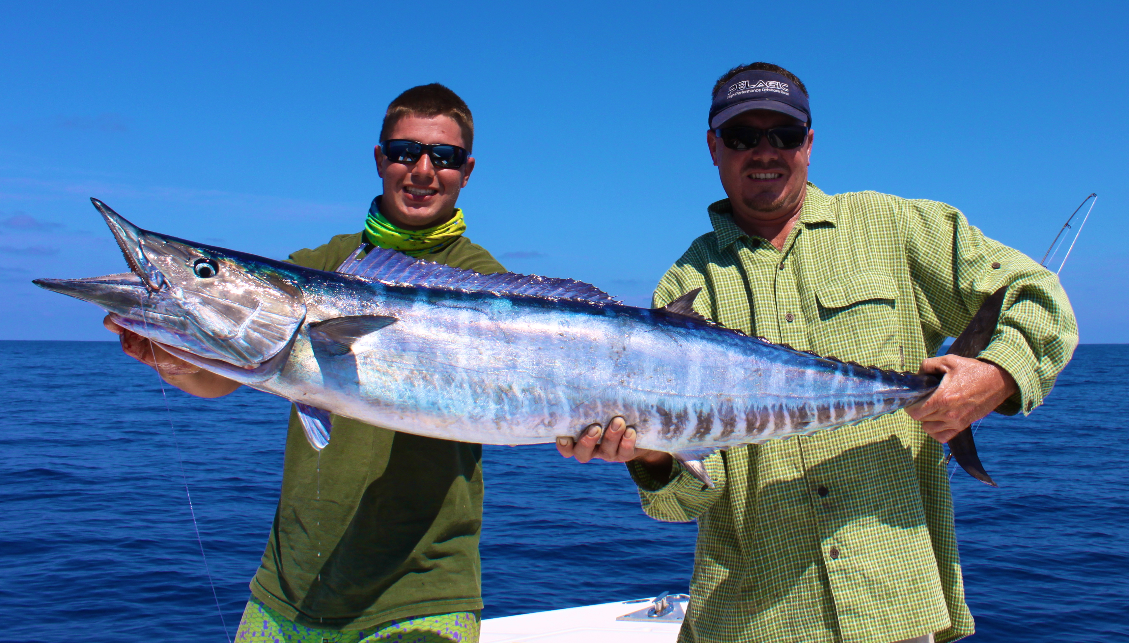 Wahoo fishing fish envy charters for Trolling for fish