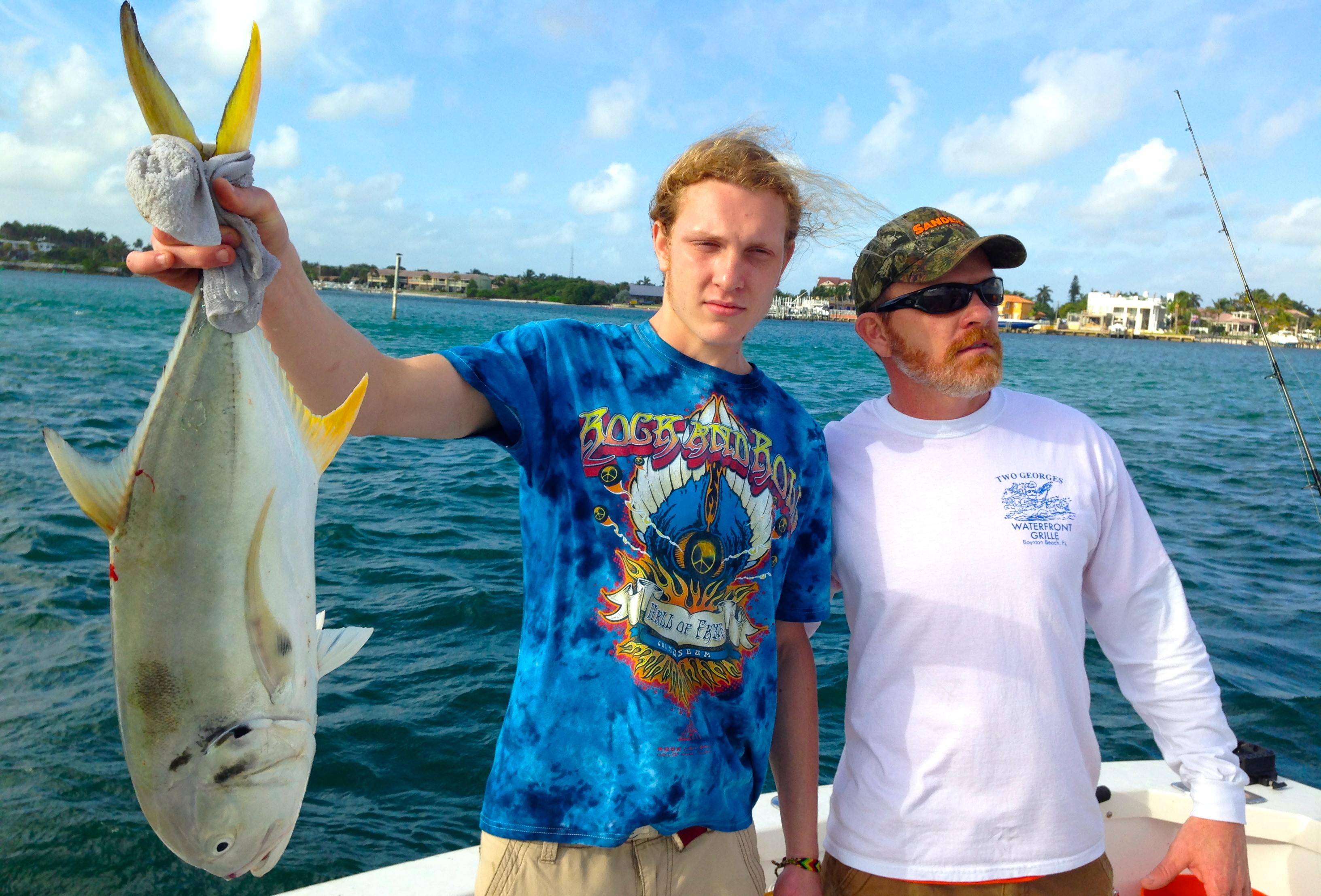 12 22 13 boca raton fishing report inshore charters are for Delray beach fishing charters