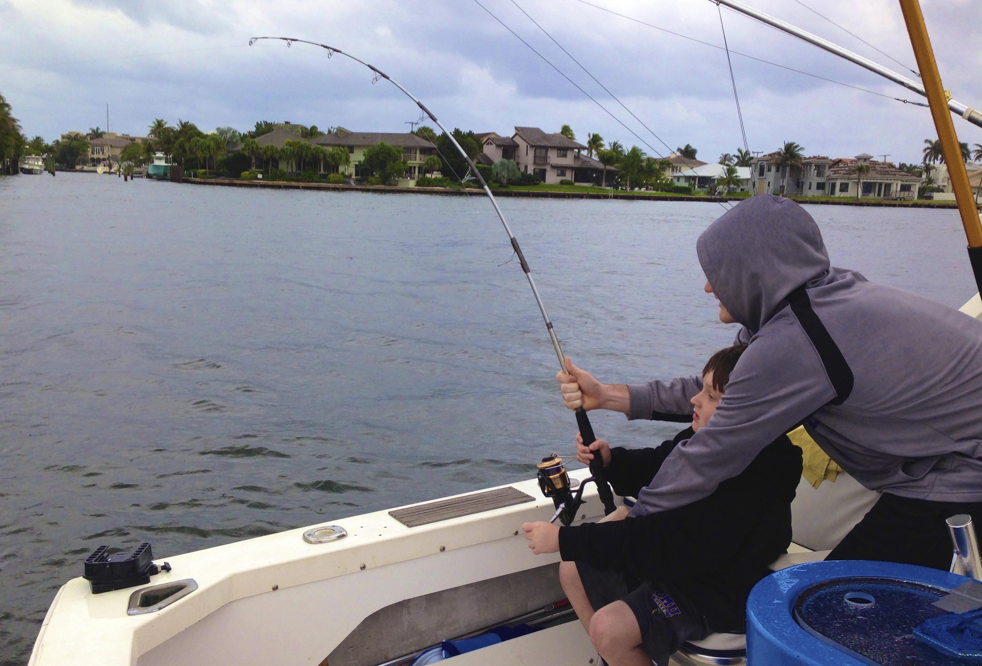 01 06 14 boca raton fishing report tarpon and jacks for Delray beach fishing charters