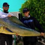 (April 24, 2014) Boca Raton Fishing Report: Sailfish, Blackfin Tuna, And Monster Mahi Mahi!