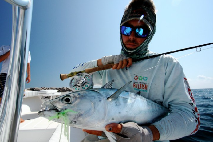 Bonito fly fishing charters fish envy charters for Delray beach fishing charters