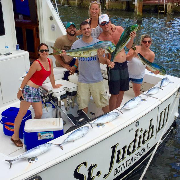 Boca Raton Fishing Report Mahi Mahi And Bonito Last Week
