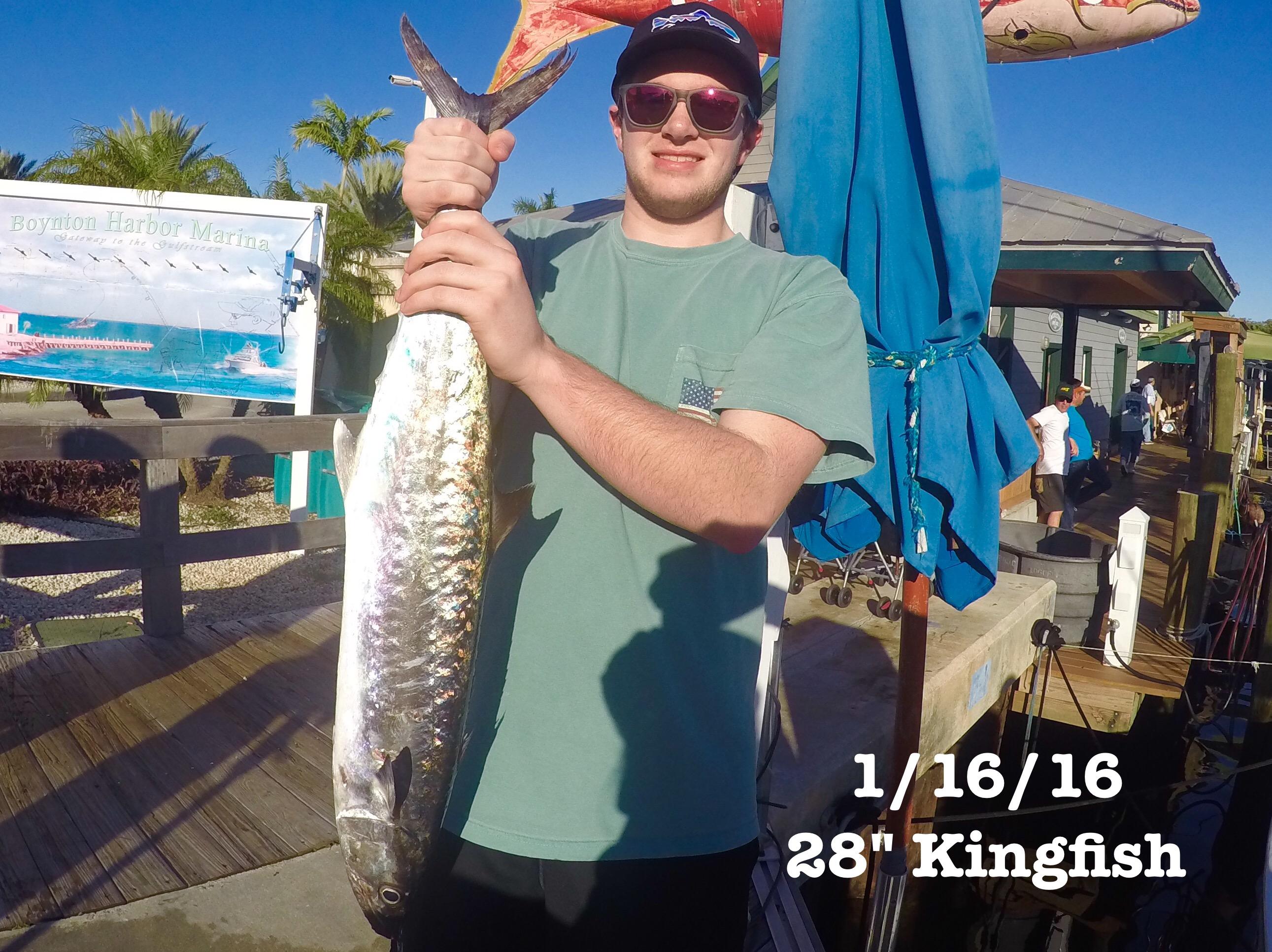 King Mackerel Fish Envy Charters