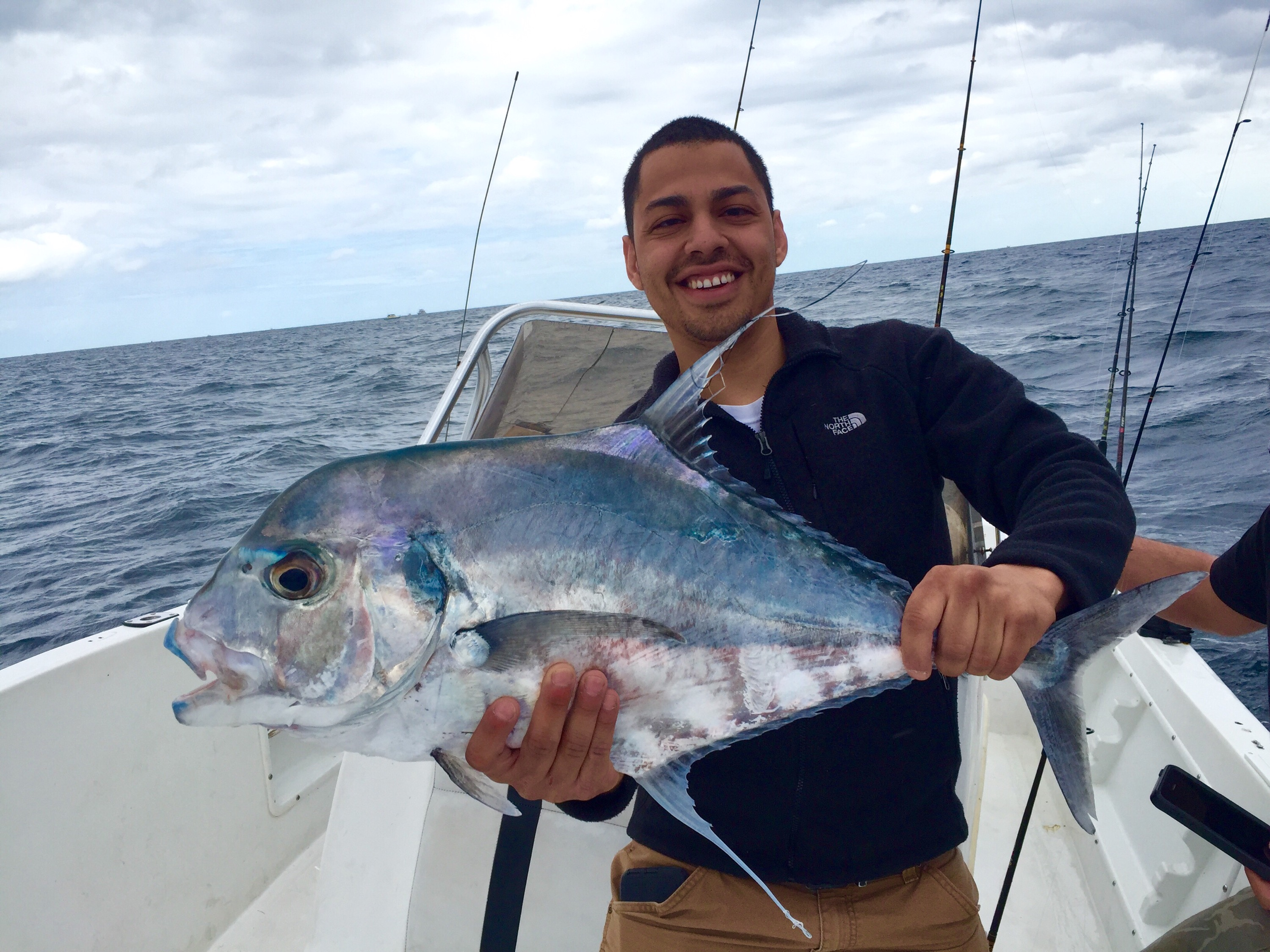 02 24 16 fishing report wahoo snapper african pompano for Pompano fish good to eat