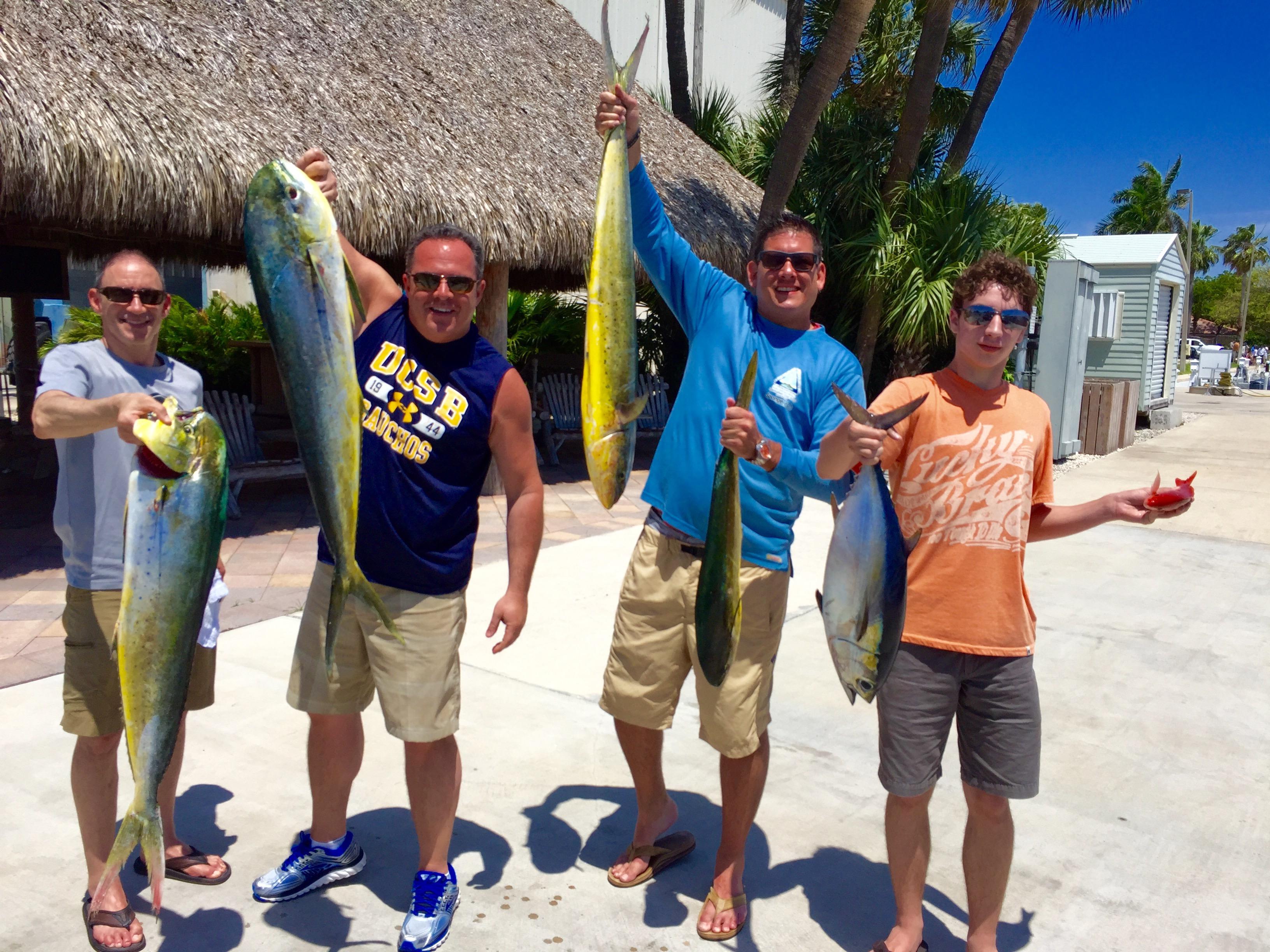 Fishing report wahoo dolphin kingfish snook jacks for Boca raton fishing