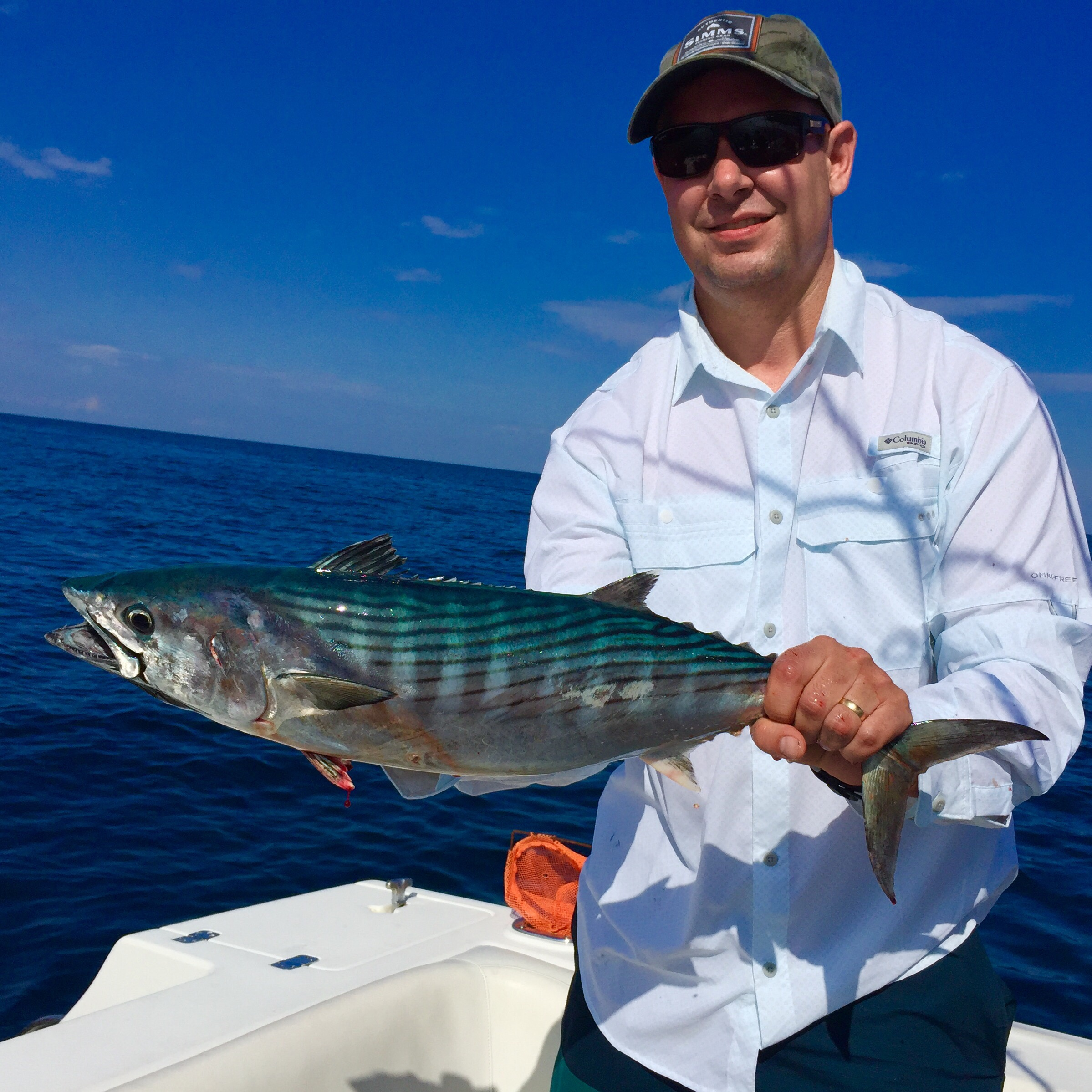 5 24 16 fishing report tuna tripletail and bonito for Delray beach fishing charters