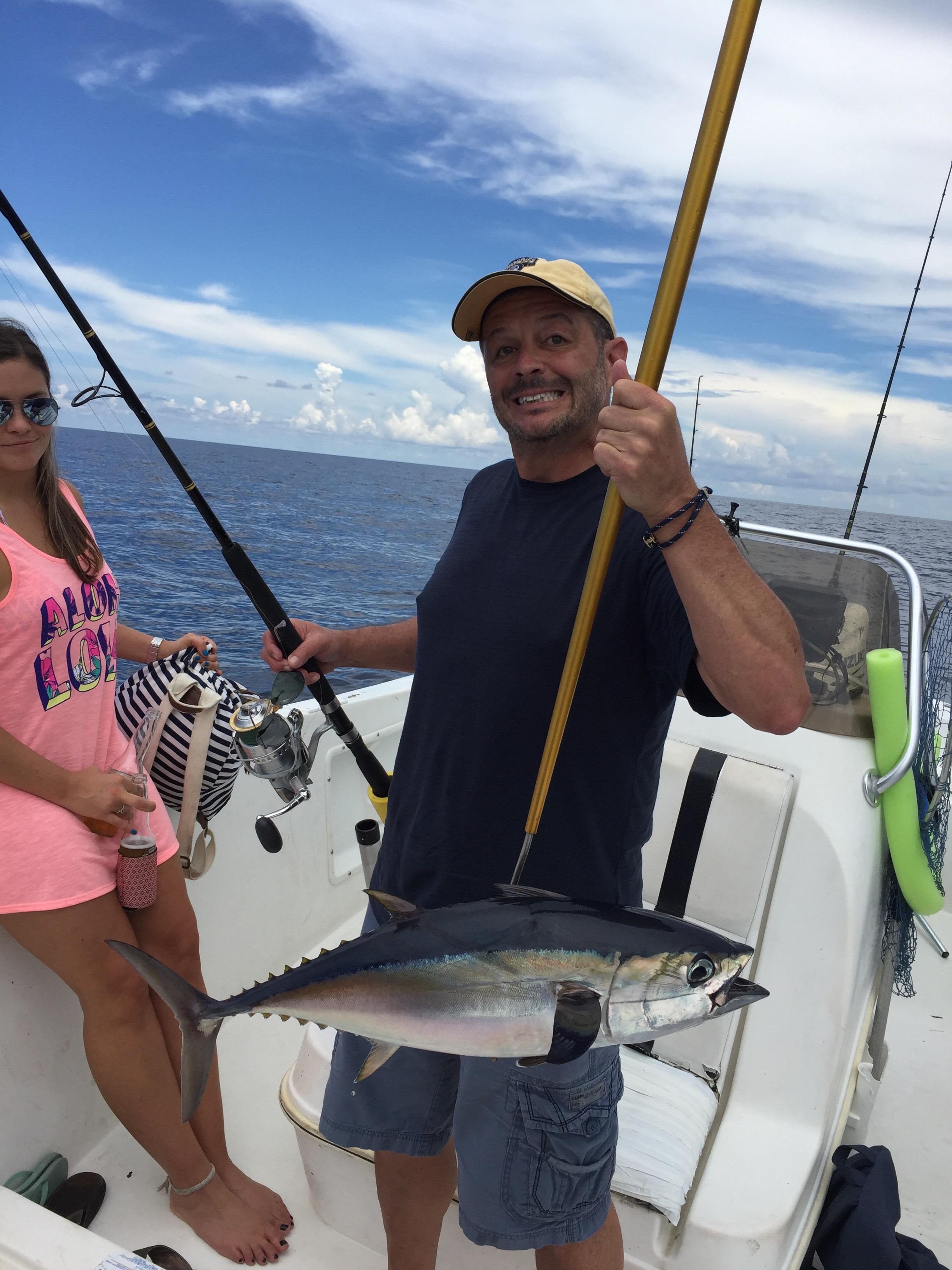 06 03 16 fishing report snook tuna kingfish jacks for Delray beach fishing charters